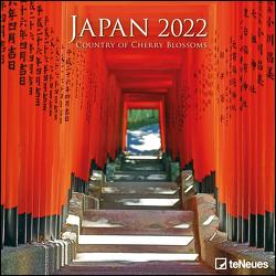 Japan 2022 – Wand-Kalender – Broschüren-Kalender – 30×30 – 30×60 geöffnet – Reise-Kalender