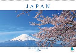 Japan: eine Entdeckung (Premium, hochwertiger DIN A2 Wandkalender 2020, Kunstdruck in Hochglanz) von CALVENDO