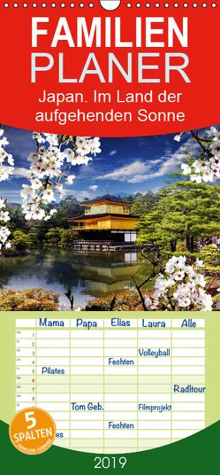 Japan. Im Land der aufgehenden Sonne – Familienplaner hoch (Wandkalender 2019 , 21 cm x 45 cm, hoch) von Stanzer,  Elisabeth