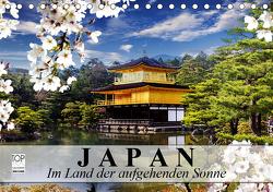 Japan. Im Land der aufgehenden Sonne (Tischkalender 2021 DIN A5 quer) von Stanzer,  Elisabeth