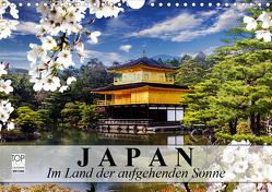 Japan. Im Land der aufgehenden Sonne (Wandkalender 2021 DIN A4 quer) von Stanzer,  Elisabeth