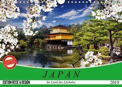 Japan. Im Land des Lächelns (Wandkalender 2019 DIN A4 quer) von Stanzer,  Elisabeth