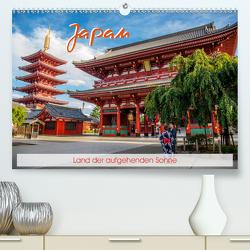 Japan – Land der aufgehenden Sonne (Premium, hochwertiger DIN A2 Wandkalender 2020, Kunstdruck in Hochglanz) von Nürnberg,  Fiorelino