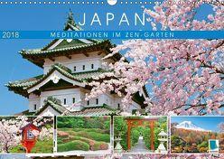 Japan: Meditationen im Garten (Wandkalender 2018 DIN A3 quer) von CALVENDO,  k.A.