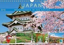 Japan: Meditationen im Garten (Wandkalender 2018 DIN A4 quer) von CALVENDO,  k.A.