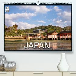 Japan (Premium, hochwertiger DIN A2 Wandkalender 2021, Kunstdruck in Hochglanz) von Eberhardt,  Peter