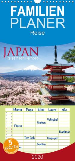Japan – Reise nach Fernost – Familienplaner hoch (Wandkalender 2020 , 21 cm x 45 cm, hoch) von Christopher Becke,  Jan