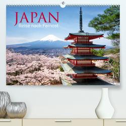Japan – Reise nach Fernost (Premium, hochwertiger DIN A2 Wandkalender 2020, Kunstdruck in Hochglanz) von Christopher Becke,  Jan