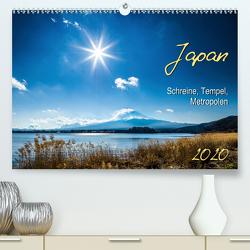 Japan – Schreine, Tempel, Metropolen (Premium, hochwertiger DIN A2 Wandkalender 2020, Kunstdruck in Hochglanz) von Gerd-Uwe Neukamp,  Dr.