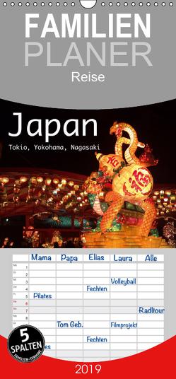Japan – Tokio, Yokohama, Nagasaki – Familienplaner hoch (Wandkalender 2019 , 21 cm x 45 cm, hoch) von Styppa,  Robert