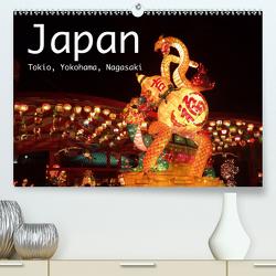 Japan – Tokio, Yokohama, Nagasaki (Premium, hochwertiger DIN A2 Wandkalender 2021, Kunstdruck in Hochglanz) von Styppa,  Robert