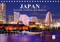 Japan. Zwischen Tradition und Moderne (Tischkalender 2019 DIN A5 quer) von Stanzer,  Elisabeth