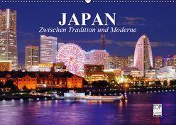 Japan. Zwischen Tradition und Moderne (Wandkalender 2019 DIN A2 quer) von Stanzer,  Elisabeth