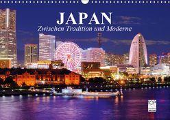 Japan. Zwischen Tradition und Moderne (Wandkalender 2019 DIN A3 quer) von Stanzer,  Elisabeth