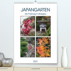 Japangarten (Premium, hochwertiger DIN A2 Wandkalender 2021, Kunstdruck in Hochglanz) von Brunner-Klaus,  Liselotte