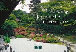 Japanische Gärten 2022 ‒ Broschürenkalender ‒ mit informativen Texten ‒ mit Jahresplaner ‒ Format 42 x 29 cm von Nitschke,  Günter