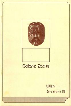 Japanische Netsuke – Ausstellung 1982 von Zacken,  Wolfmar