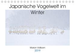 Japanische Vogelwelt im Winter (Tischkalender 2019 DIN A5 quer) von Vollborn,  Marion