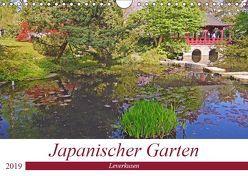Japanischer Garten Leverkusen (Wandkalender 2019 DIN A4 quer) von Schimon,  Claudia