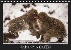 Japanmakaken (Tischkalender 2019 DIN A5 quer) von Schwarz Fotografie,  Thomas