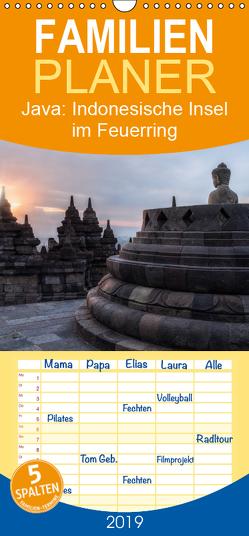 Java: Indonesische Insel im Feuerring – Familienplaner hoch (Wandkalender 2019 , 21 cm x 45 cm, hoch) von Kruse,  Joana