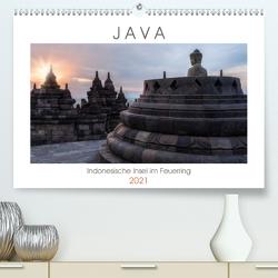 Java, Indonesische Insel im Feuerring (Premium, hochwertiger DIN A2 Wandkalender 2021, Kunstdruck in Hochglanz) von Kruse,  Joana