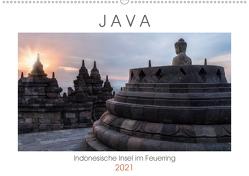 Java, Indonesische Insel im Feuerring (Wandkalender 2021 DIN A2 quer) von Kruse,  Joana