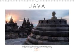 Java, Indonesische Insel im Feuerring (Wandkalender 2021 DIN A3 quer) von Kruse,  Joana
