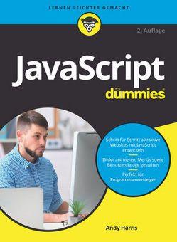 JavaScript für Dummies von Franken,  Gerhard, Harris,  Andy