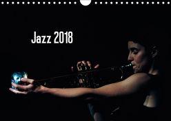 Jazz 2018 (Wandkalender 2018 DIN A4 quer) von Klein,  Gerhard