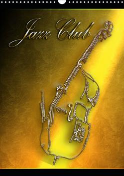 Jazz Club (Wandkalender 2020 DIN A3 hoch) von Bluesax