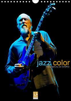 jazz color (Wandkalender 2020 DIN A4 hoch) von Scheffner,  Jan