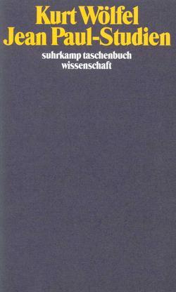 Jean-Paul-Studien von Buschendorf,  Bernhard, Wölfel,  Kurt