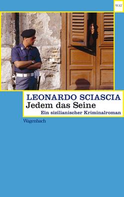 Jedem das Seine von Giachi,  Arianna, Sciascia,  Leonardo