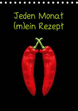 Jeden Monat m(ein) Rezept (Tischkalender 2021 DIN A5 hoch) von Kaina,  Miriam