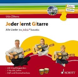 """Jeder lernt Gitarre – Alle Lieder zu """"JelGi kreativ"""" von Zilkens,  Udo"""