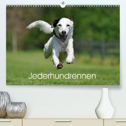 Jederhundrennen (Premium, hochwertiger DIN A2 Wandkalender 2020, Kunstdruck in Hochglanz) von Schiewe,  Regina