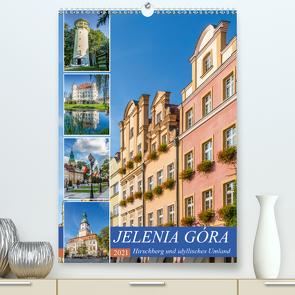 JELENIA GÓRA Hirschberg und idyllisches Umland (Premium, hochwertiger DIN A2 Wandkalender 2021, Kunstdruck in Hochglanz) von Viola,  Melanie