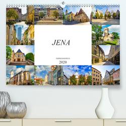 Jena Impressionen (Premium, hochwertiger DIN A2 Wandkalender 2020, Kunstdruck in Hochglanz) von Meutzner,  Dirk