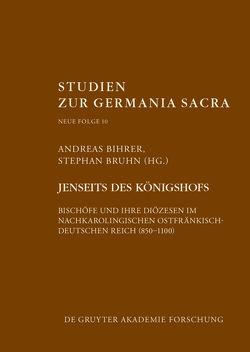 Jenseits des Königshofs von Bihrer,  Andreas, Bruhn,  Stephan