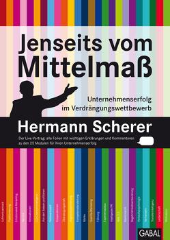 Jenseits vom Mittelmaß von Scherer,  Hermann