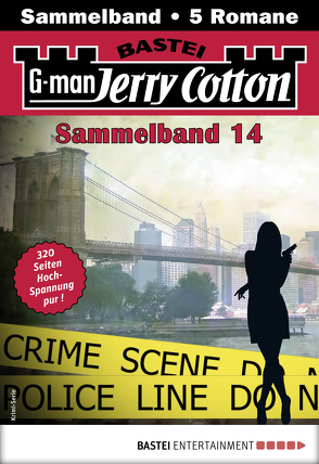 Jerry Cotton Sammelband 14 – Krimi-Serie von Cotton,  Jerry