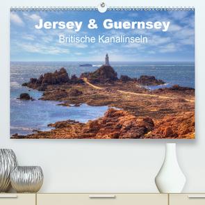 Jersey & Guernsey – britische Kanalinseln (Premium, hochwertiger DIN A2 Wandkalender 2021, Kunstdruck in Hochglanz) von Kruse,  Joana