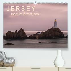 Jersey – Insel im Ärmelkanal (Premium, hochwertiger DIN A2 Wandkalender 2021, Kunstdruck in Hochglanz) von Caccia,  Enrico