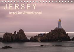 Jersey – Insel im Ärmelkanal (Tischkalender 2021 DIN A5 quer) von Caccia,  Enrico