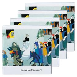 Jesus in Jerusalem (4er-Pack) von de Kort,  Kees