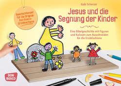 Jesus und die Segnung der Kinder von Scherzer,  Gabi