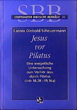 Jesus vor Pilatus von Diebold-Scheuermann,  Carola
