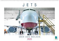Jets: Über den Wolken (Premium, hochwertiger DIN A2 Wandkalender 2020, Kunstdruck in Hochglanz) von CALVENDO
