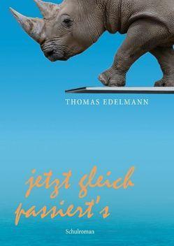 Jetzt gleich passiert's von Edelmann,  Thomas